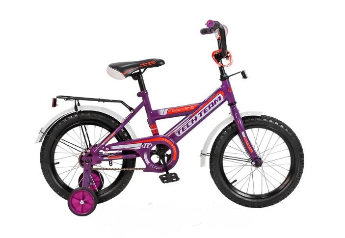 """Детский велосипед TECH TEAM 138 12""""  (Возраст: 2-4 года (Рост: 75-105см), Цвет: белый)"""