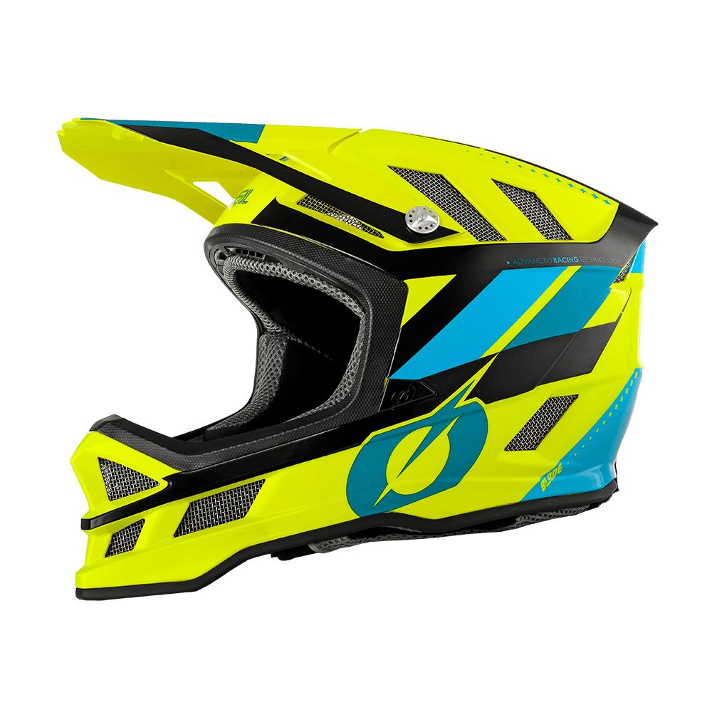 Шлем велосипедный O´Neal Blade Ipx Synapse сине-желтый  (Размер: M (57/58 Cm)).