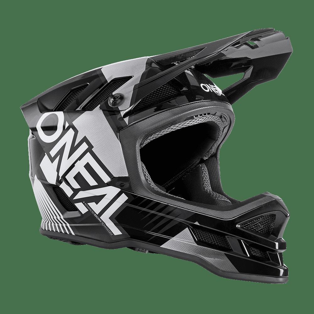 Шлем велосипедный O'Neal BLADE Polyacrylite Helmet DELTA black/white (Размер: M (57/58 cm)).