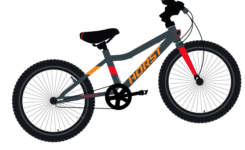 """Детский велосипед Horst STURM 16"""" 2021 (Возраст: 4-6 лет (Рост: 95-115см). Цвет: А)"""