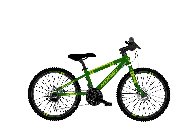 """Детский велосипед Horst HUMMEL 20"""" 2021 (Возраст: 6-9 лет (Рост: 115-135см), Цвет: А)"""