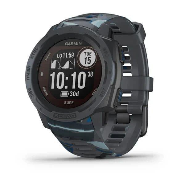 Смарт-часы спортивные Garmin Instinct Solar – Surf, Pipeline, 010-02293-07