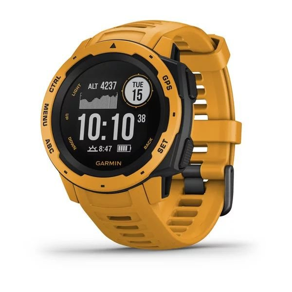 Смарт-часы спортивные Garmin Instinct Solar, Sunburst, 010-02293-09