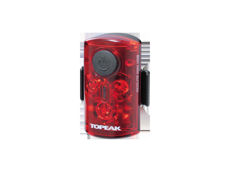 Фонарь велосипедный TOPEAK RedLite Mini USB, задний, TMS078
