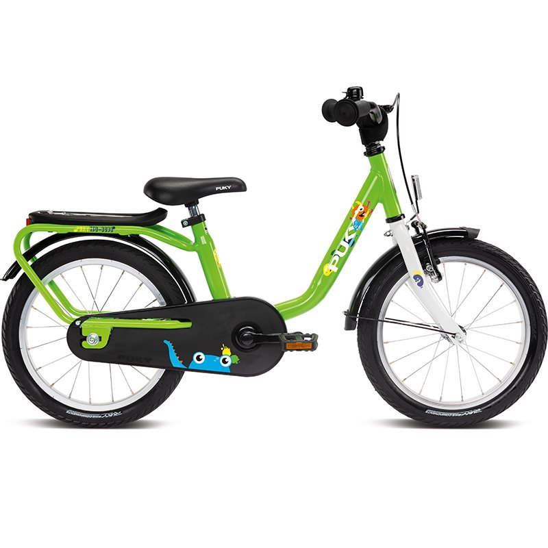 """Детский велосипед PUKY STEEL, 16"""", двухколесный (Рама: 16"""" (Рост: от 109 до 125 см), Цвет: Kiwi)"""