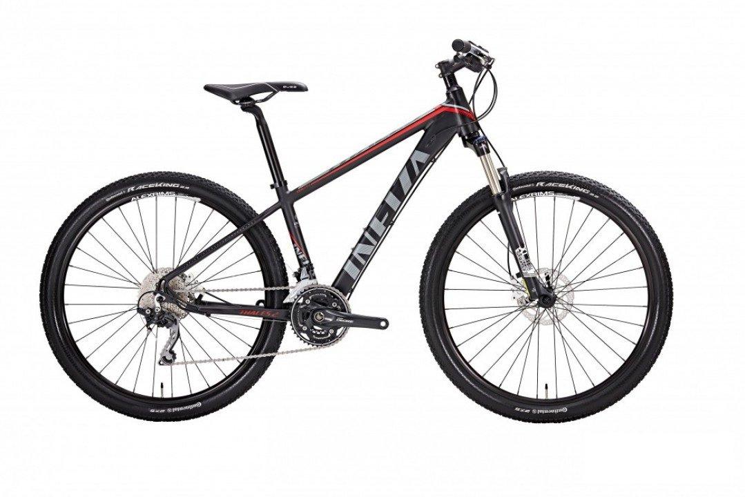 """Горный велосипед Alton THALES2 27,5"""" (Рама: 470мм (Рост: 170-178см), Цвет: черный)"""
