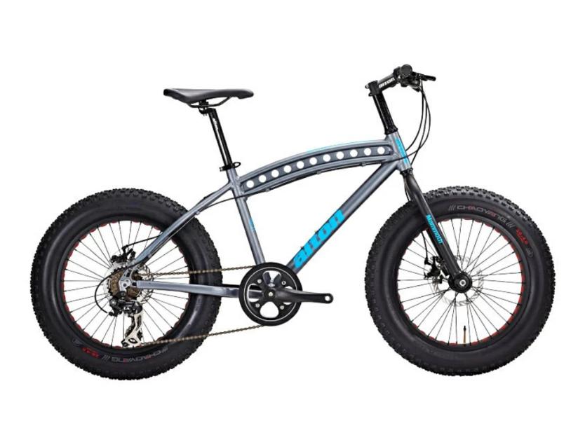 """Детский велосипед Alton FAT MAMMOTH 20"""" (Рама: 410 S (Рост: 120-135см), Цвет: серый)"""