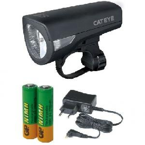 Фонарь велосипедный Cat Eye HL-EL340EC, передний, с аккумуляторами, CE5336783