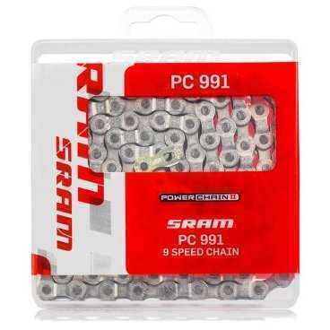 Цепь SRAM PC-991+PowerLink 9ск (88.2703.114.105)