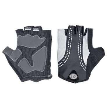 Перчатки 8-7130546 PalmAir черные р-р M  с петельками AUTHORВелоперчатки<br>облегченная и дышащая модель,черные, комбинация эластичного материала LYCRA и материала AIR MESH 3D, тонкой синтетической кожи SERINO, ладонь с гелевыми прокладками и защитным укреплением, с петельками для более легкого и удобного снятия с ладони, блистер<br>