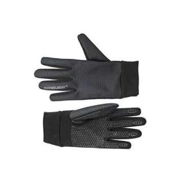 Перчатки 8-7131058 длинные пальцы Windster утепленные  черные р-р L лайкра/флис AUTHORВелоперчатки<br>черные, с длинными пальцами, облегченная модель, функциональная мембрана ULTRA 3 TECH, мягкий эластичный флисовый материал LYCRA с антискользящими покрытием на ладони, мягкие эластичные манжеты, блистер<br>