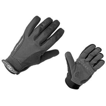 Перчатки 8-7131046 длинные пальцы Windster Light утепленные черные M AUTHORВелоперчатки<br>черные, с длинными пальцами, облегченная модель, комбинация функциональной мембраны ULTRA 3 TECH, неопрена и эластичной флисы LYCRA, мягкая синтетическая кожа AMARA с антискользящими вставки GEL SHOCK ABSORBER и защитным укреплением на ладони, прекрасные ветрозащита и отвод влаги, регулируемые манжеты на липучках, блистер<br>
