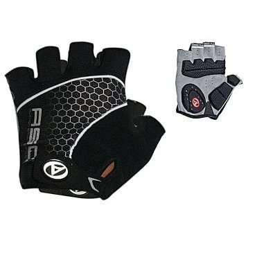 Перчатки 8-7130703 Men Comfort Gel черно-серые р-р XL с петельками AUTHOR, арт: 4137 - Велоперчатки