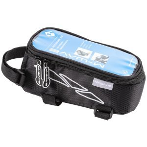 Сумочка/чехол+бокс M-WAVE на раму для смартфона 170х80х80мм влагозащитная черная 5-122375