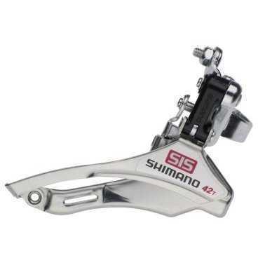 Суппорт-переключатель передний велосипедный Shimano Tourney верхний хомут AFDTY10TM6 2-3064 переключатель передний велосипедный shimano claris 2403 3x8 скоростей на упор efd2403f