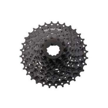 Трещетка для велосипеда Shimano Tourney TZ30, 6 скоростей, 14-34, с защитой, AMFTZ30CP6434TКассеты<br>Трещотка, TZ30, 6ск, 14-34, защ чер, б/уп.<br>Вес: 450 гр.<br>1-14, 2-16, 3-18, 4-21, 5-23, 6-34 Т<br>