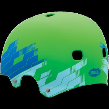 Велошлем Bell SEGMENT matte glow green trax M(55-59см) матовый зеленый BE7040096
