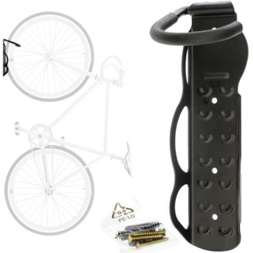 Крюк стальной настенный для хранения велосипеда за колесо (вертикально) HUK 05