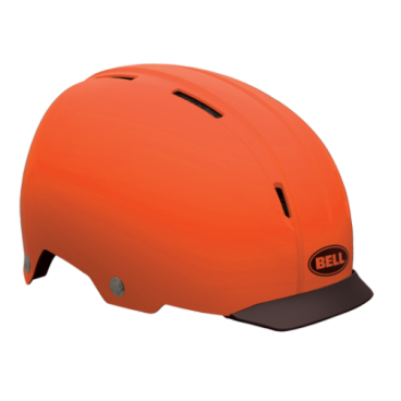 Велошлем Bell INTERSECT ретро дизайн M(55-59см) черный оранжевый BE7046582 от vamvelosiped.ru