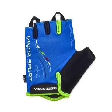 Перчатки велосипедные, ITALY, гелевые вставки, цвет синий, размер ХS VG 934 blue italy (XS)Велоперчатки<br>Перчатки велосипедные, ITALY, гелевые вставки, цвет синий, размер ХS, лёгкие воздухопроницаемые перчатки с усилением ладошки, плоской петлёй для снятия с руки и  липучкой;<br>Индивидуальная упаковка Vinca sport<br>Характеристики<br>Материал внешней сторонылайкра<br>Материал тыльной сторонысерая амара<br>Наличие гелягелевая вставка<br>Размер:  XS<br>Артикул:  VG 934 blue italy (XS)<br>