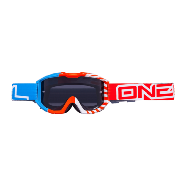 Веломаска O'Neal B1 RL Goggle Okinawa / Blue / Orange Clear