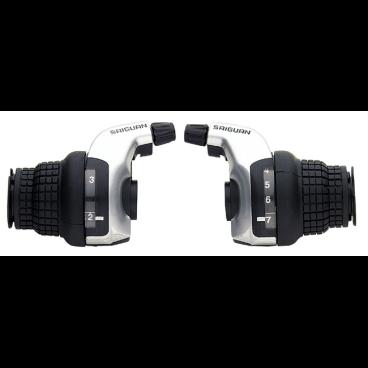 Шифтеры VINCA, совместимы с Shimano, левая - 3  скорости, правая - 7  скорости, с тросиком, KDSG 51-