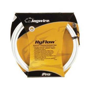 Гидролиния JAGWIRE для тормозов 3м, белая, с универсальными адаптерами Quick fit, HBK402