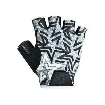 Перчатки KELLYS IMPULS short, без пальцев, серые, S, Gloves IMPULS short , light grey S розетка акустическая abb impuls черный бархат с черной вставкой