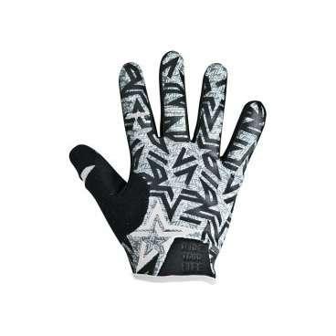Перчатки KELLYS IMPULS long, серые, S, Gloves IMPULS long  light grey S розетка акустическая abb impuls черный бархат с черной вставкой