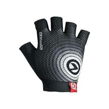 Перчатки KELLYS INSTINCT short, без пальцев, чёрно-белые, M, Gloves INSTINCT short , black/white M перчатки stella перчатки и варежки без пальцев