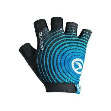 Перчатки KELLYS INSTINCT short, без пальцев, черно-синие, S, Gloves INSTINCT short , black/blue S перчатки без пальцев шерстяные с рисунком розовые