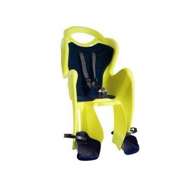 Велокресло на подседельную трубу BELLELLI Mr Fox Relax Hi-Viz заднее, до 7лет/22кг, 01FXR00027