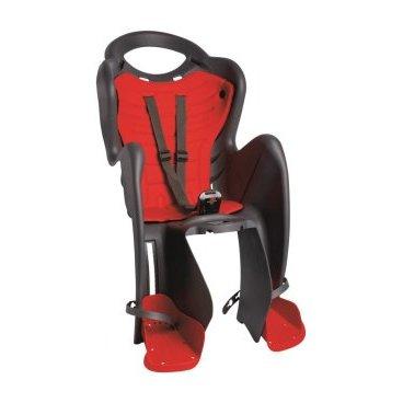 Детское велокресло на подседельную трубу BELLELLI Mr Fox Standard заднее, до 7лет/22кг, 01FXS00002
