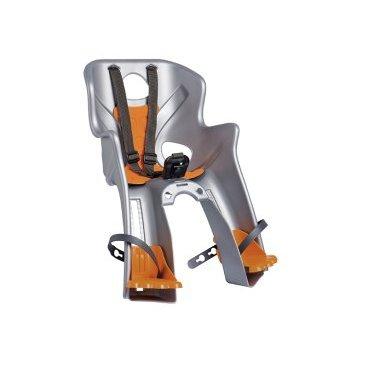 Купить со скидкой Детское велокресло на руль BELLELLI Rabbit HandleFix переднее, до 15кг, серебряное, 01RBT00007