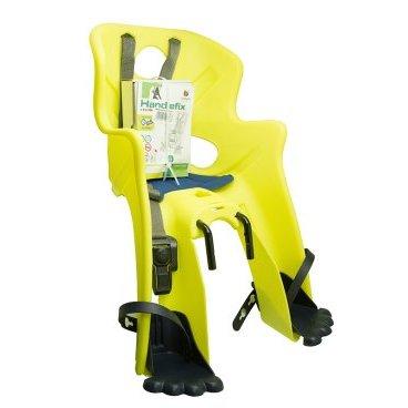 Велокресло на руль BELLELLI Rabbit SportFix Hi-Viz, до 15кг, светоотражающее, жёлтое 01RBTS0027