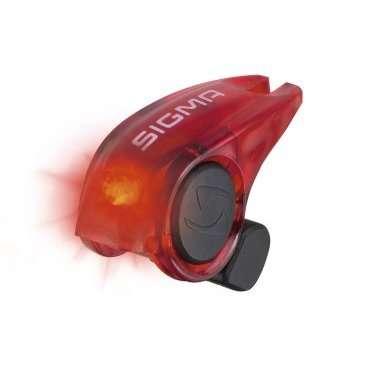 Фонарь стоп-сигнал Sigma Sport Brakelight, красный корпус, 31000Фары и фонари для велосипеда<br>Особенности:<br>легкий и компактный габарит безопасности<br>включается во время нажатия на ручку тормоза<br>один светодиод<br>фонарик совместим с ободными тормозами V-brake<br>боковая видимость<br>герметичный влагозащищенный корпус<br><br>Комплектация:<br>габаритный фонарик безопасности<br>крепеж<br>2 батарейки<br>инструкция<br><br>Материал: Пластик<br>Диод: Led 1 шт<br>Время работы: До 200 часов (100 000 нажатий)<br>Батарея: CR10251<br>Крепление: Крепится на тормозной трос с помощью болта. Для монтажа нужен шестигранник 2,5 мм<br>Размер: 3 х 3 см<br>Вес: 6 г<br>