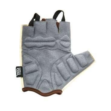 Купить со скидкой Перчатки велосипедные женские, Lady, гелевые вставки, цвет бежевый, размер S VG 943 Lady (S)