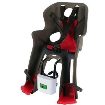 Велокресло детское  AUTHORRabbit B-fix, переднее, на раму/вынос, серо-красное, до 15кг, 8-16240810
