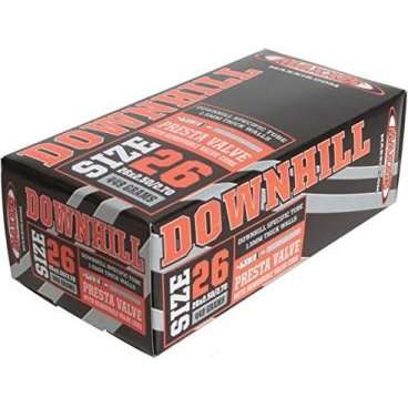 Камера Maxxis Downhill, 26x2.5/2.7, ниппель Presta, велониппель, IB68560100