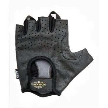 Перчатки Vinca sport VG 945, мужские, коричневые, размер M, гелевые вставки, VG 946 Royal man (M)Велоперчатки<br>Идеально подходят для защиты рук во время движения.<br><br>Цвет: коричневый<br><br>Размер: М<br><br>Материал внешней стороны :натуральная кожа,<br><br>Материал тыльной стороны: искусственная замша,<br><br>Наличие геля: гелевые вставки,<br>