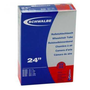 Велокамера Schwalbe 20/28-540/541 мм / 24x3/4-1 3/8, AV9A, 10419240