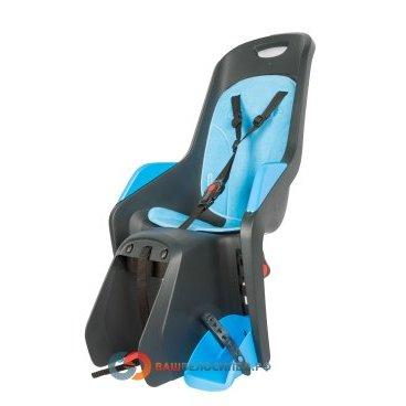 Детское велокресло Author Bubbly Maxi CFS на багажник серо-синее до 22кг 8-16240258