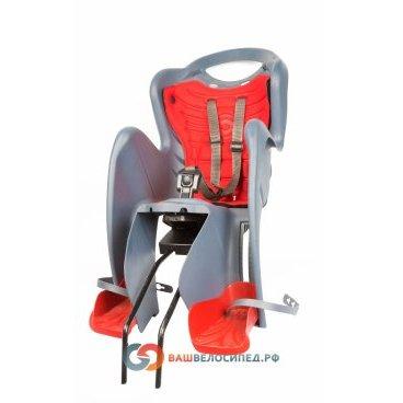 Детское велокресло на подседельную трубу BELLELLI Mr Fox Relax заднее, до 7лет/22кг, 01FXR00020
