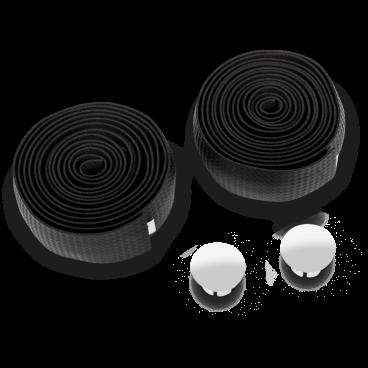 Обмотка руля велосипедная Kross FLANNEL Blk, черная, 2x185, T4CCH000266