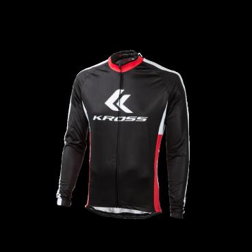 Веломайка Kross RACE PRO, длинный рукав, размер M, черный, T4COD000242MBK носки kross krt tall размер xl черный t4cod000283xlbk