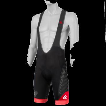 Велотрусы Kross RACE PRO, лямки, размер M, черный, T4COD000217MBK