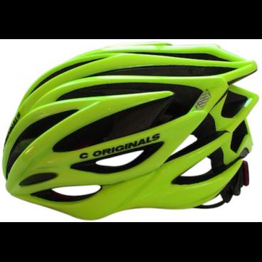 Купить со скидкой Велошлем C-Original SV888, размер S/M, салатный, SV888YEFLSM