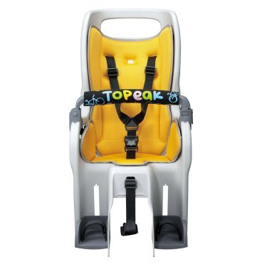Детское кресло Topeak Baby Seat II, без багажника, желтый, TCS2203