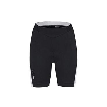 Велошорты VAUDE Wo Advanced Shorts 061, черно-белый, женские, 4390 от vamvelosiped.ru