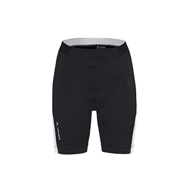 Велошорты VAUDE Wo Advanced Shorts 061, черно-белый, женские, 4390